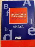 DICCIONARIO DE SECUNDARIA Y BACHILLERATO - foto