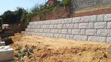 muros de contencion bloque hormigon - foto