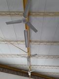 Ventiladores de techo S Y P gimnasio - foto