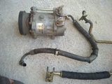 compresor de aire acondicionado de clio - foto