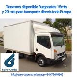 Transporte de carga y mudanzas en Europa - foto