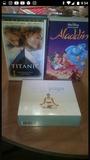 Cintas Video Aladin y Titani - foto