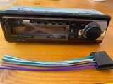 reproductor radio casett de coche - foto