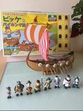 Barco Viki el Vikingo. - foto