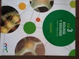 LIBRO DE BIOLOGÍA Y GEOLOGÍA 3º ESO - foto