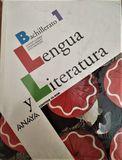 LIBRO LENGUA Y LITERATURA PRIMERO BACH - foto