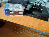 PlayStation 4 + mando + 5 juegos - foto