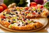 Pizza casera - foto