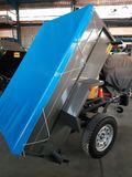 remolque 4x4 basculante hidraulico - foto