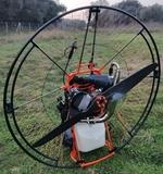 Paramotor Corsair BlackDevil - foto
