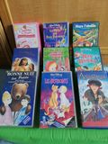 Videos infantiles VHS francés - foto