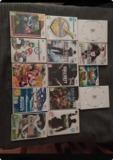 Wii negra con muchos juegos - foto