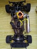coche rc gasolina - foto
