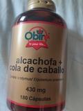 alcachofa y cola caballo - foto