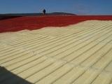 reparación de tejados con poliuretano - foto