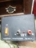 fuentes  alimentación material de radio - foto