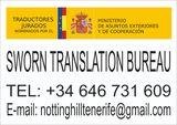 Sworn Translation English - Spanish - foto