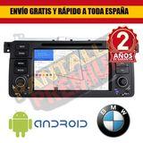 Radio pantalla android 9. 0 para bmw e46 - foto