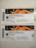 Entradas FUTBOL Sevilla Fc Roma RECUERDO - foto