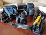 Cámara reflex Nikon D5100 + Sigma 17-50 - foto