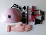 kit para uñas acrílicas y semipermanente - foto