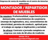 MONTADOR / REPARTIDOR DE MUEBLES - foto