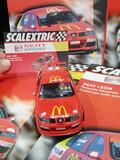Seat león rally, mcdonalds, scalextric. - foto