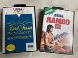 Rambo III y Trivial para Sega Master sys - foto