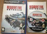 Resident evil outbreak ps2,pal españa - foto