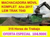 MACHACADORA MÓVIL KOMPLET SPA - LEM TRACK 7040 - foto