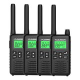 4 PCS 16 CANALES WALKIE TALKIES