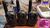 JUEGO 3 walkie talkie NEGROS - foto