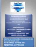 CURSO VIGI. SEGURIDAD/ESCOLTA/EXPLOSIVOS/ - foto