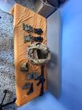 M4, Beretta M9, chaleco Ciras Multicam - foto