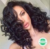 peluca natural indetectable pelo humano - foto