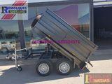 Remolques basculantes con rueda lateral. - foto