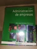LIBRO ADMINISTRACIÓN DE EMPRESAS - foto