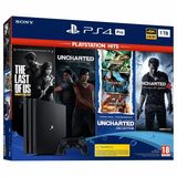 Playstation pro 1tb + the last of us + j - foto