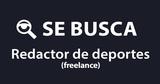 SE BUSCAN REDACTORES DEPORTIVOS - foto