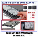Cambio de disco duro Playstation 4 - foto