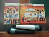 lips Xbox 360 con micros inalambricos - foto