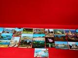 lote 25 tarjetas postales Coruña 70/80 - foto