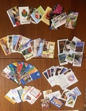 Lote 64 calendarios dobles/alargados - foto