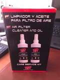 limpiador y aceite para filtro de aire - foto