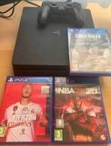 PS4 Slim 1 TB + 3 juegos + mando - foto