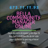 Bella community manager online - foto