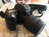 Nikon F 80 de carrete - foto