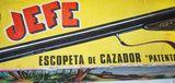 Escopeta Jefe años setenta. - foto
