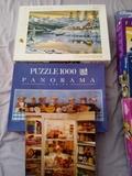 lote de puzzles - foto