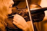 Violinistas ; extremadura - foto